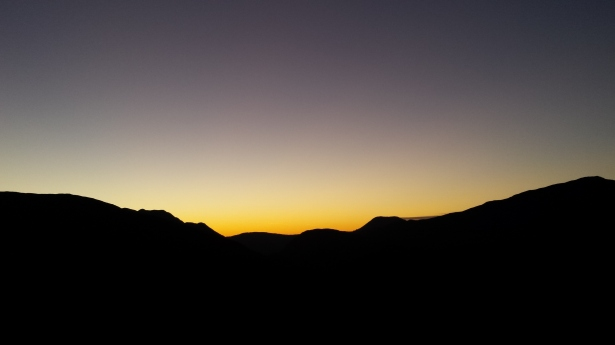 Sunset over Beinn Trilleachan.